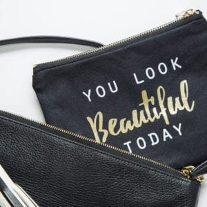 Stylish Rock Your Month Clutch